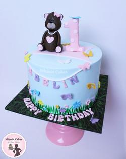 עוגה דובי
