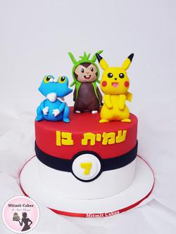 עוגה פוקימון