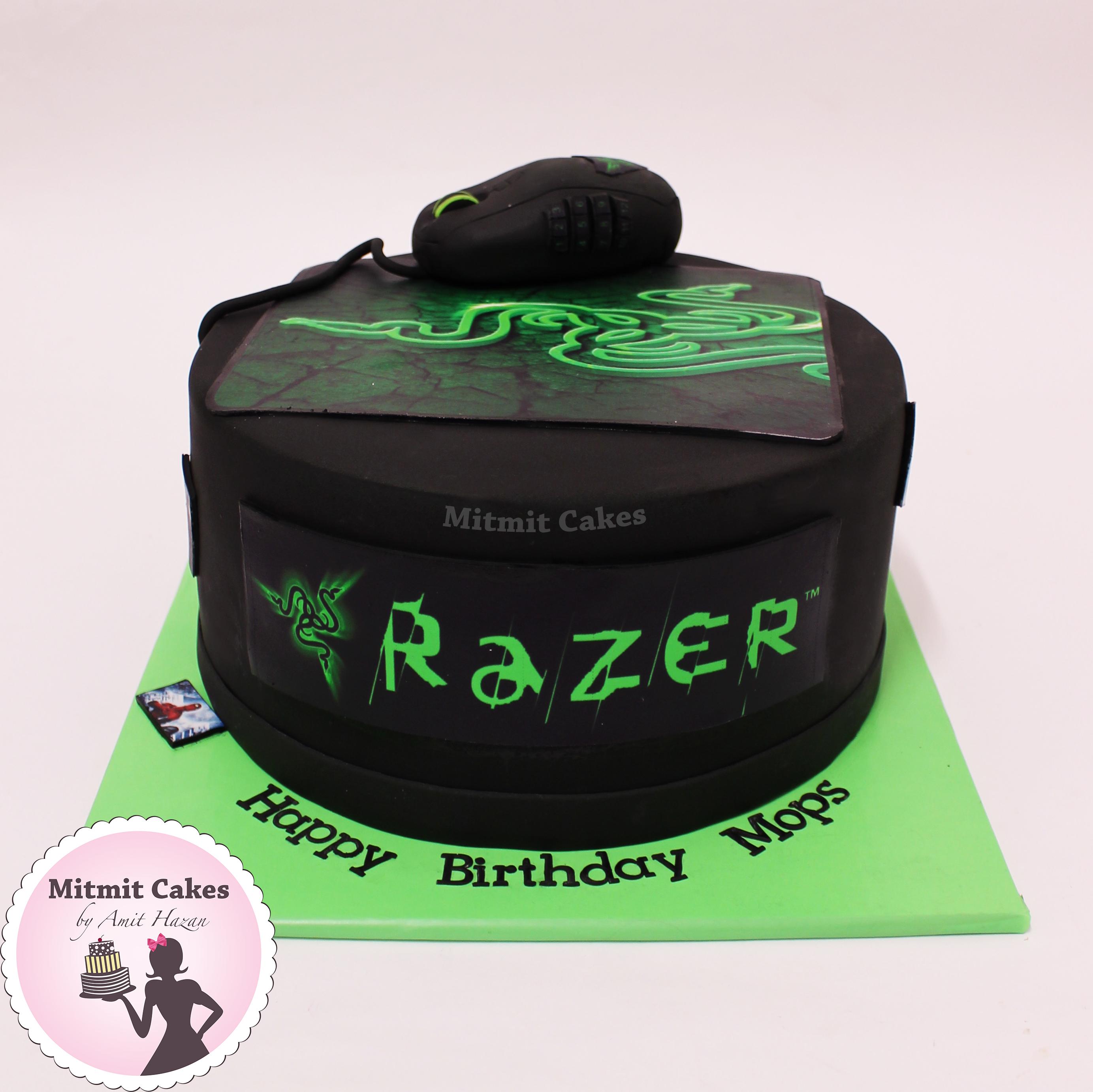 עוגה גיימר