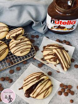 מתכון עוגיות במילוי נוטלה