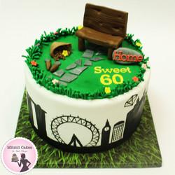 עוגת יום הולדת סובב עולם