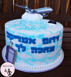 עוגה לטיסה