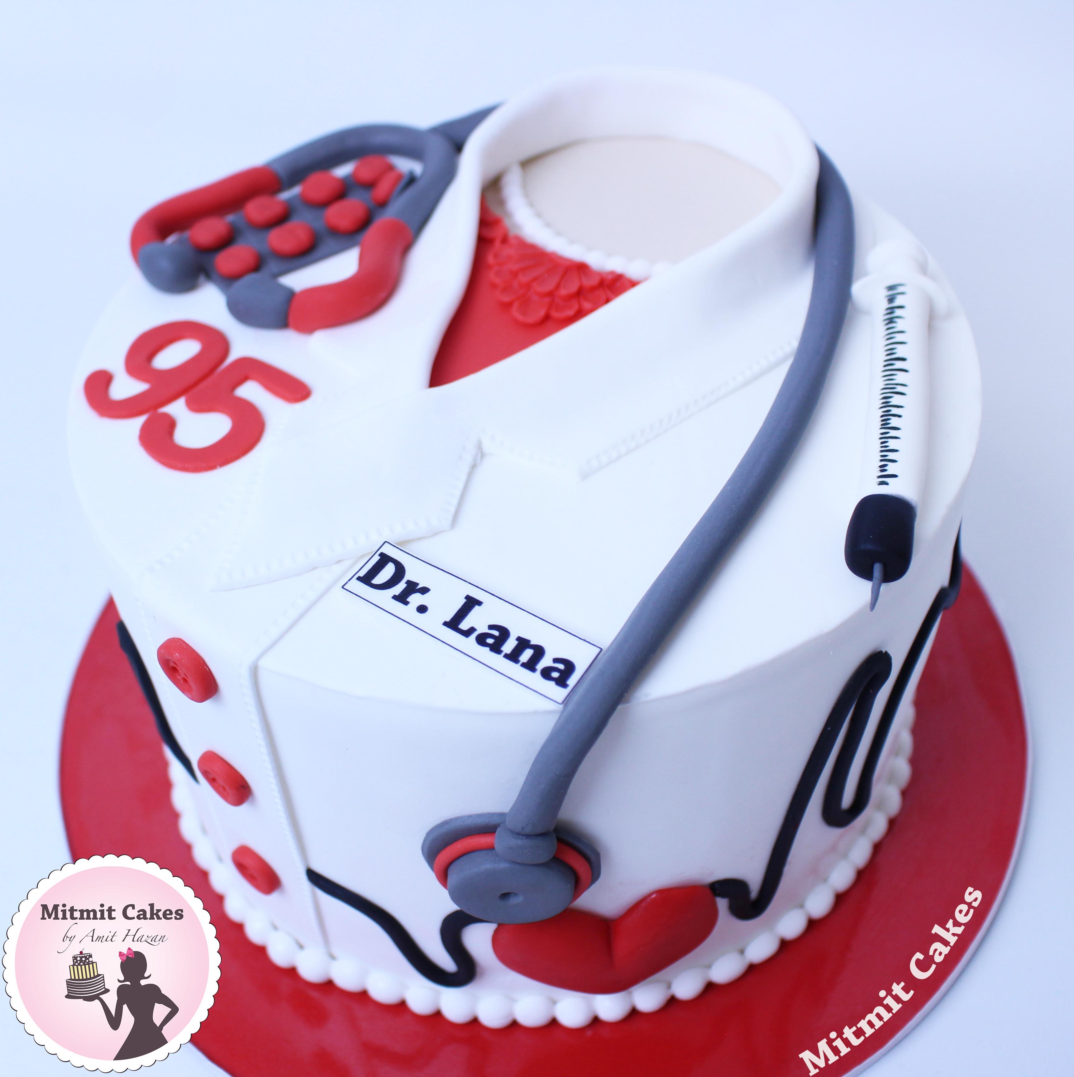 עוגת מדי רופאה
