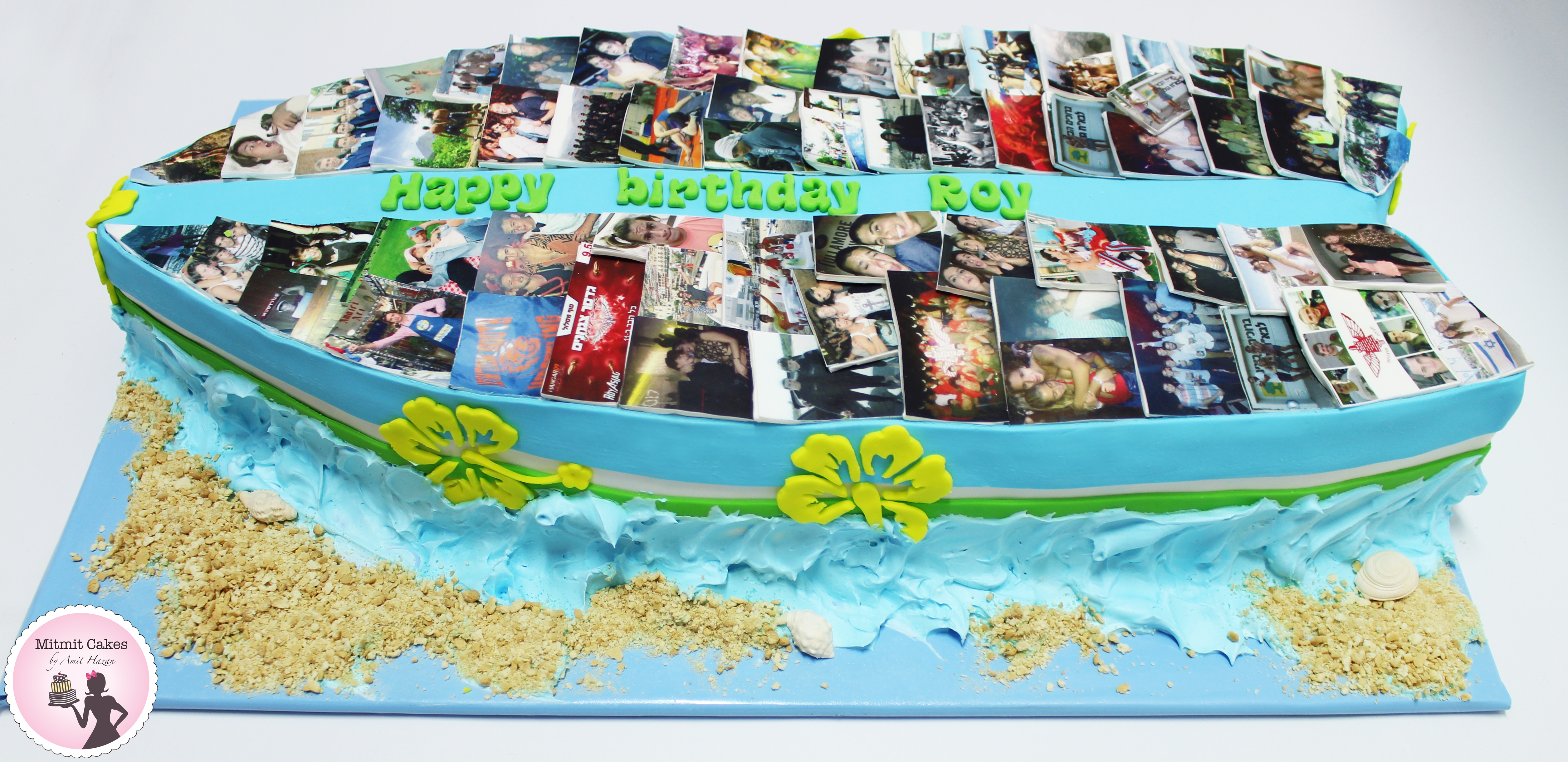 עוגה גלשן ענקית