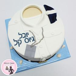 עוגת גיוס מדים לבנים