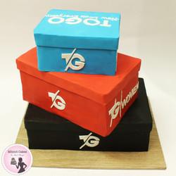 עוגת קופסאות נעליים