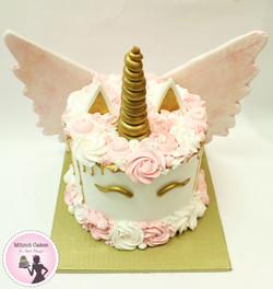 עוגת חד קרן נסיכותית