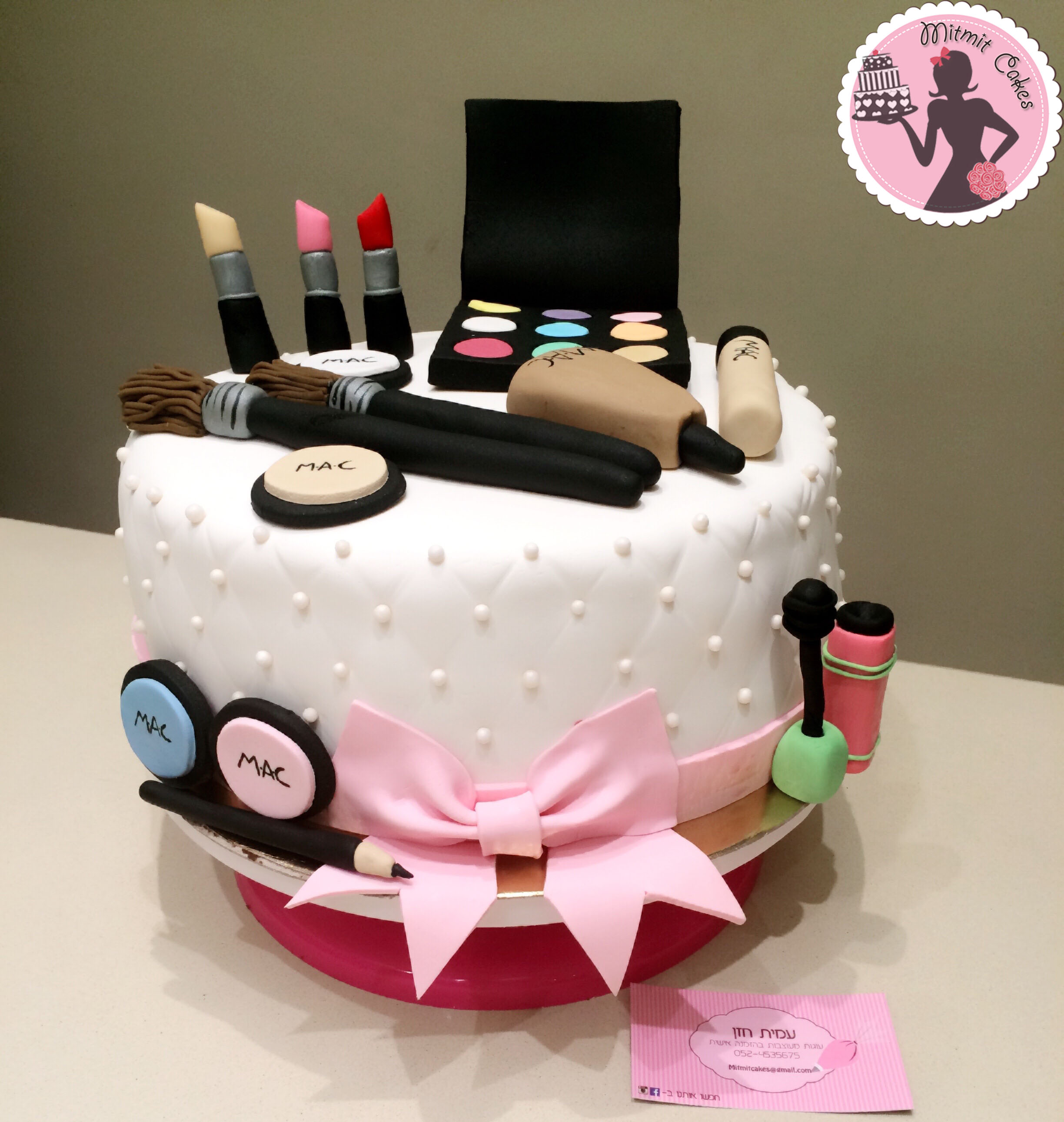 עוגת איפור MAC