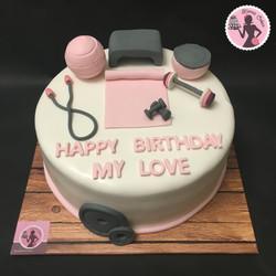 עוגת חדר כושר