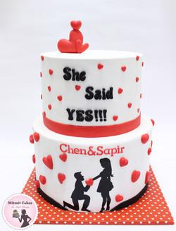 עוגת הצעת נישואין