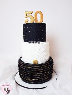 עוגה גיל 50