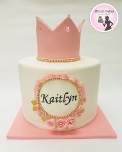עוגת כתר ליום הולדת 1