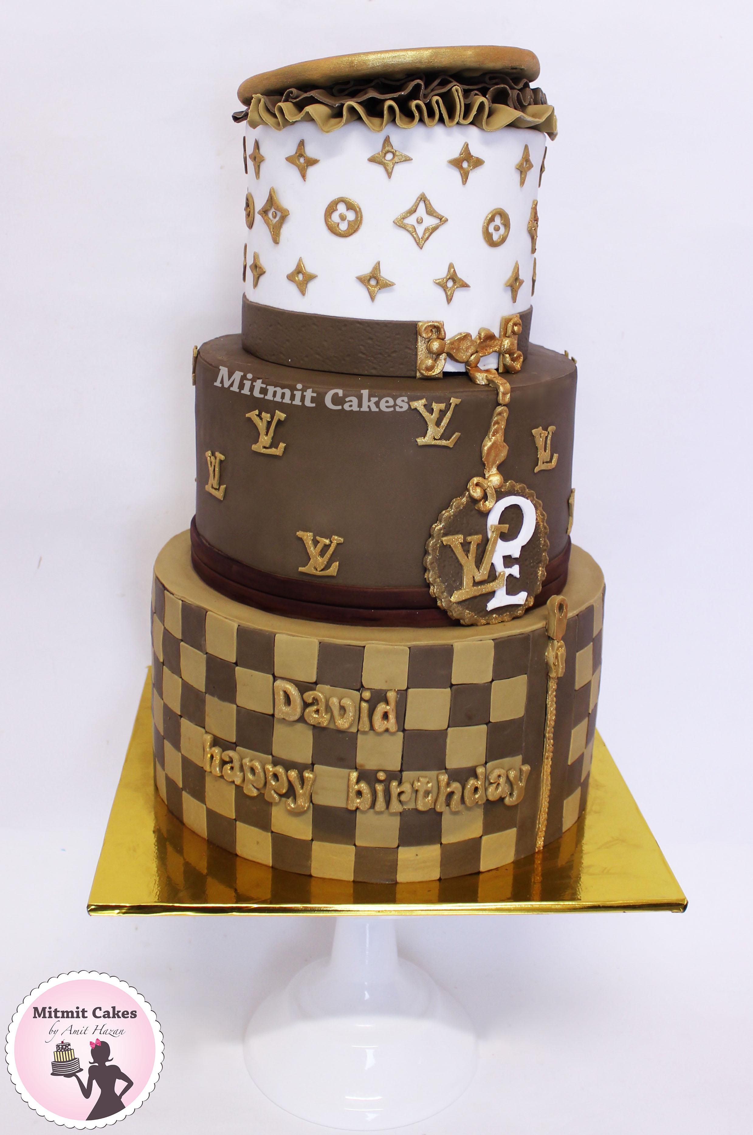 עוגת לואי ויטון