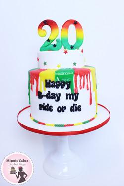 עוגה גאנה
