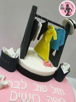 עוגת בגדים