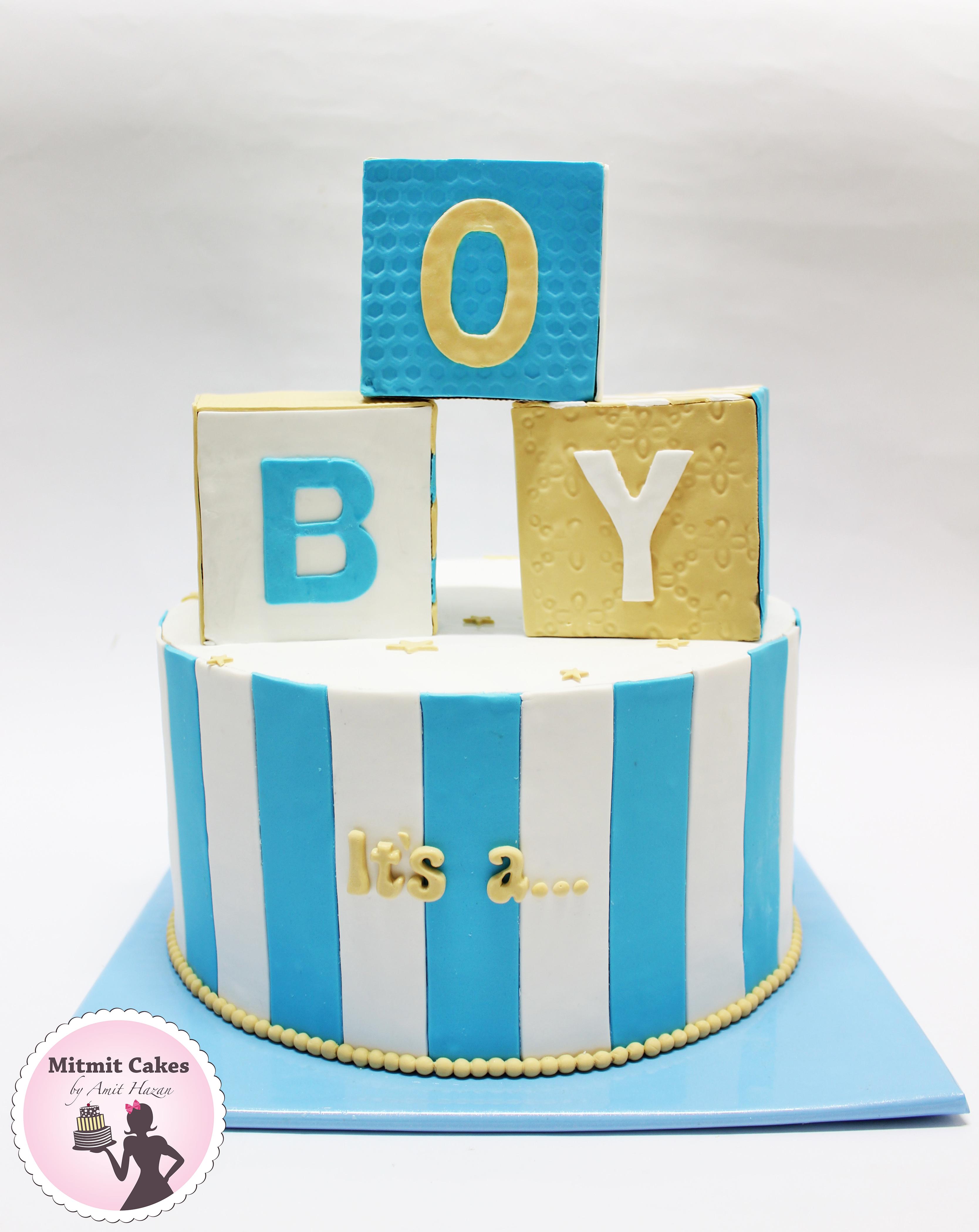 עוגה ברית תינוק חדש