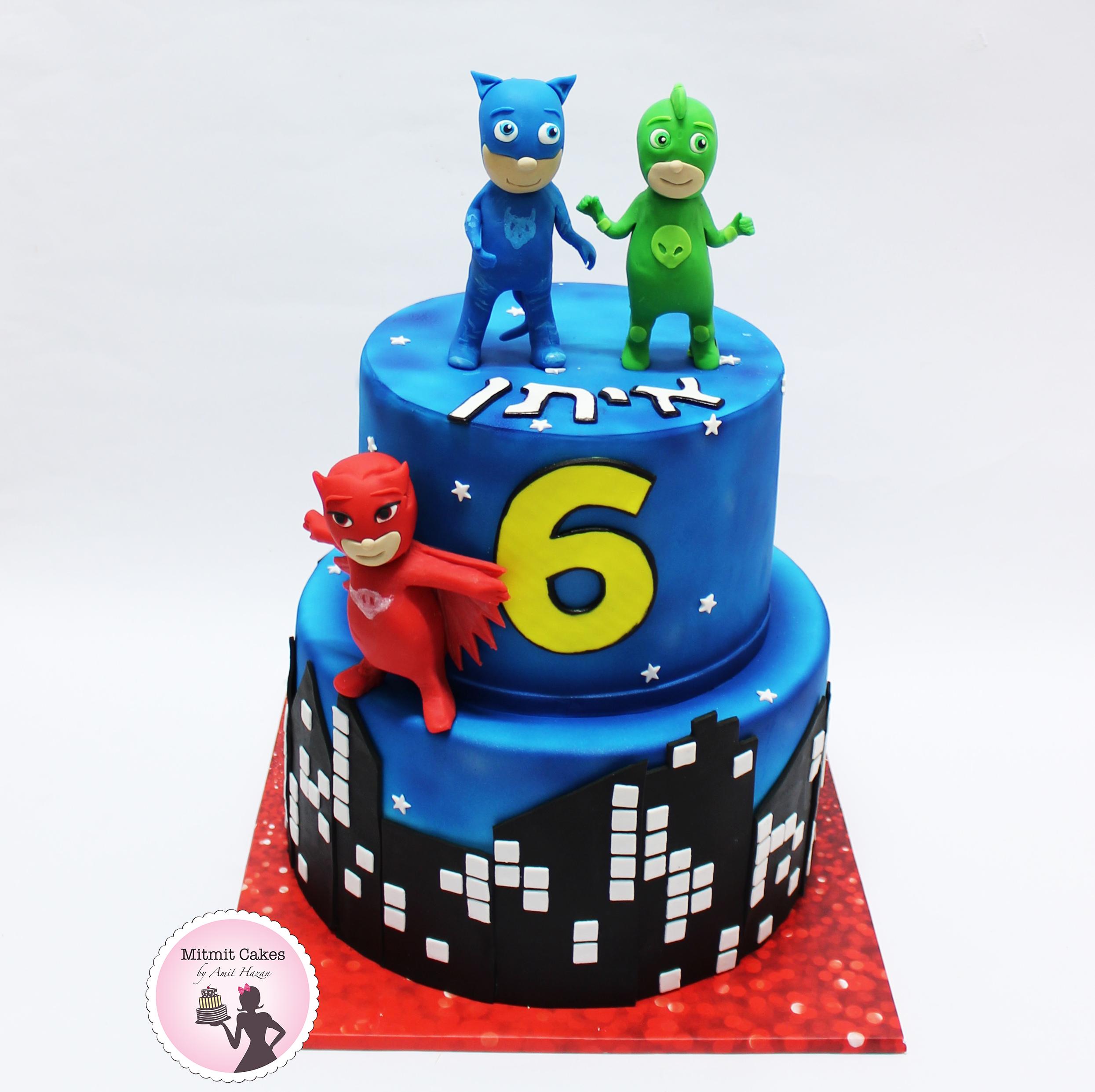 עוגת פי ג'יי