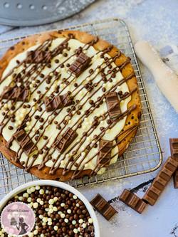 מתכון פיצה שוקולד