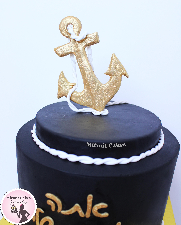 עוגה עם עוגן