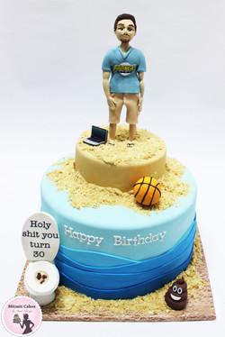 עוגה שירותים
