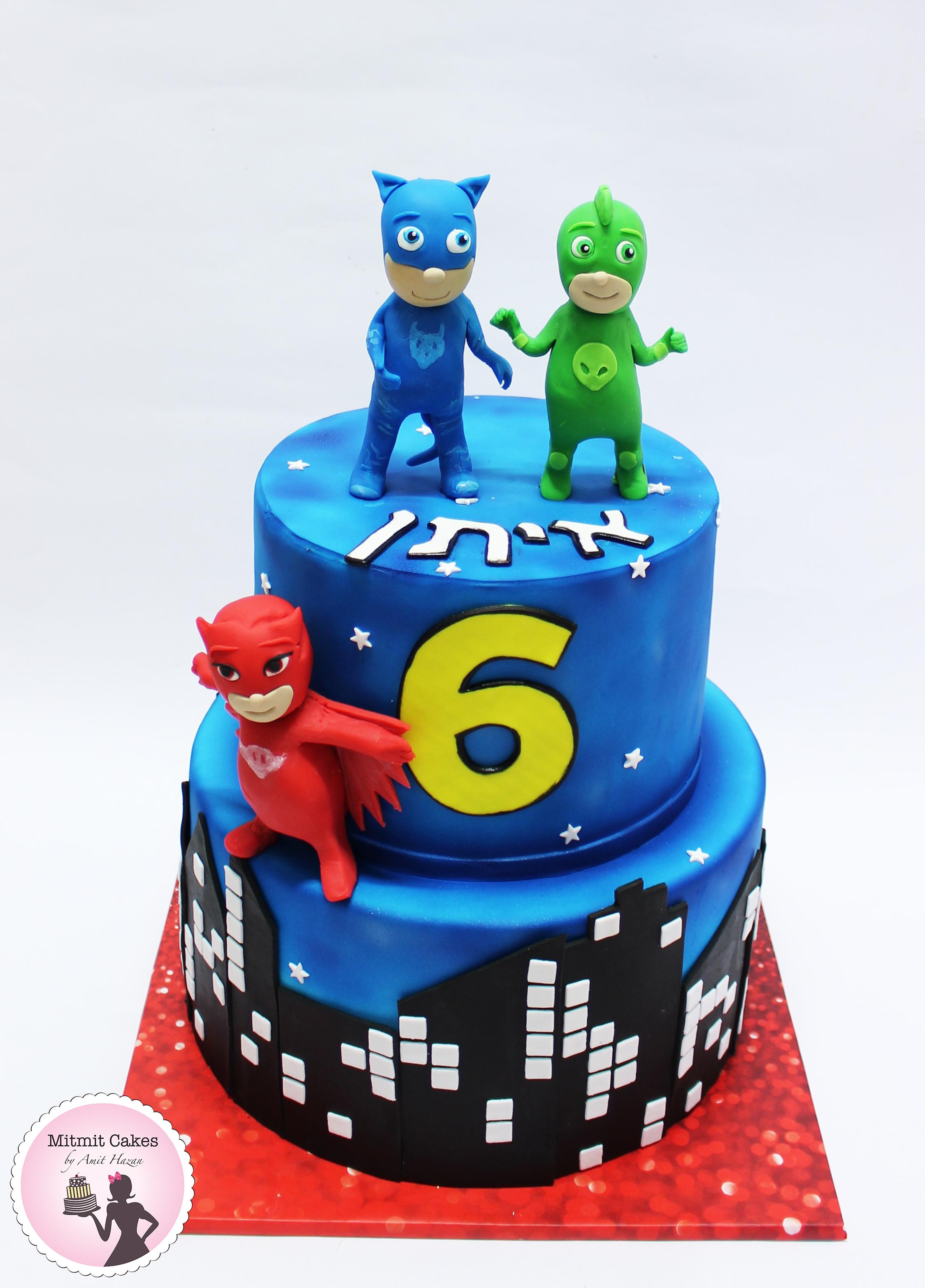 עוגה כוח פי ג'יי