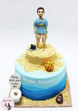 עוגה הומור שחור