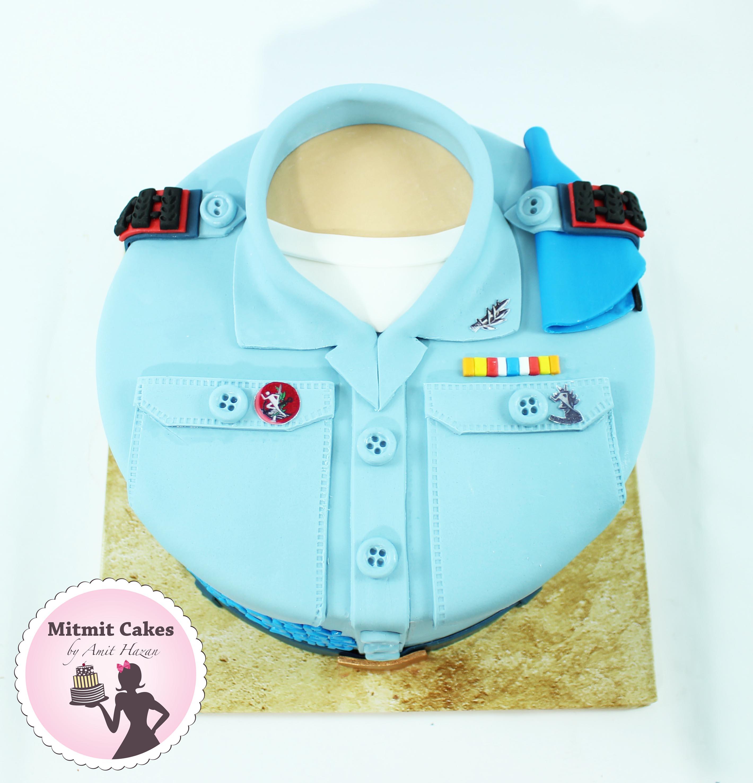 עוגה לקבלת דרת סרן