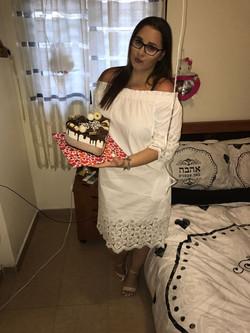 מוס שוקולד ליום הולדת