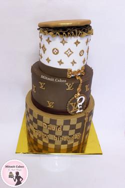 עוגה לואי ויטון