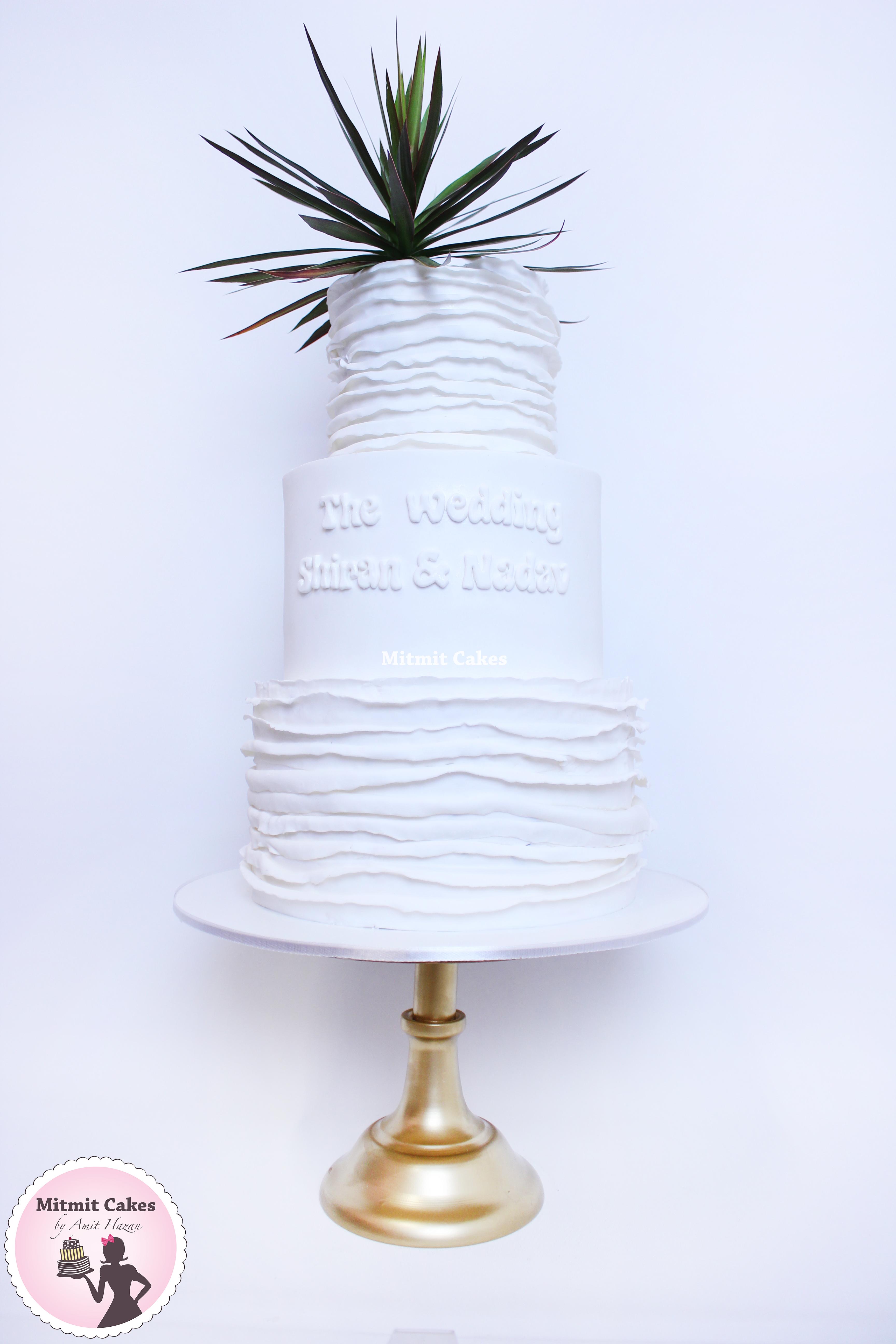 עוגת חתונה שיקית