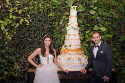 עוגת חתונה גדולה