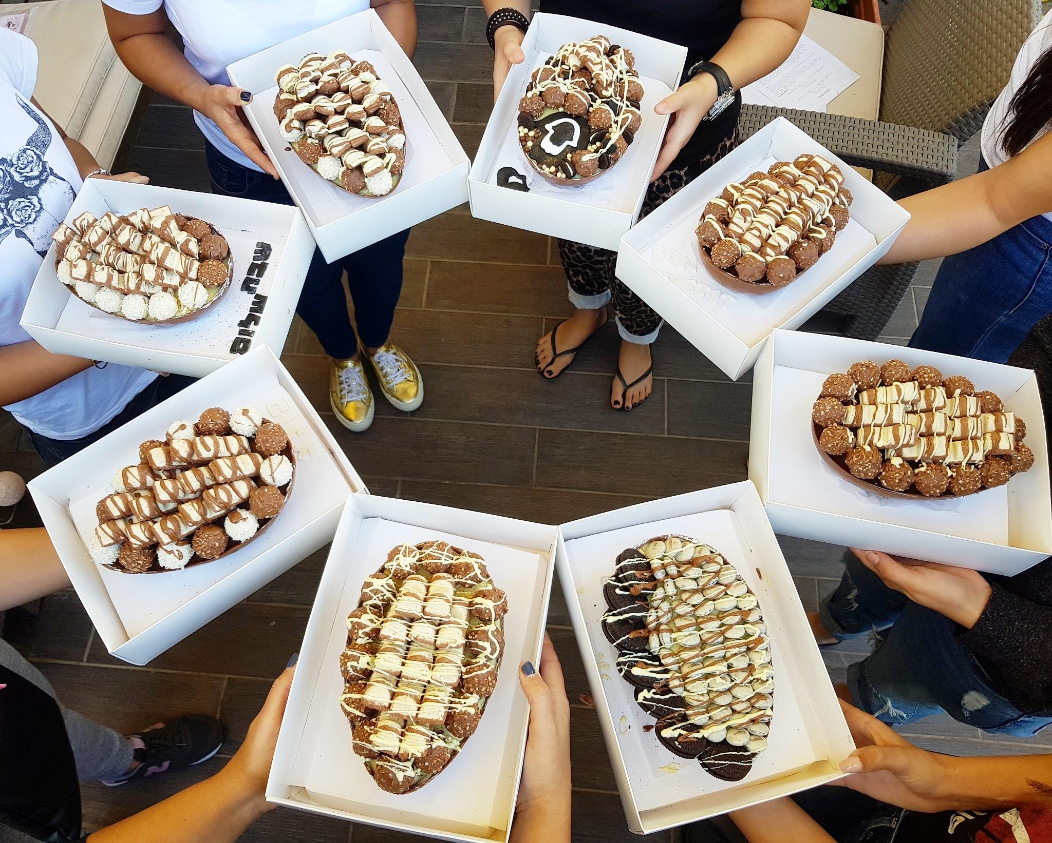 סדנת ביצי שוקולד