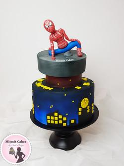 עוגת ספיידרמן