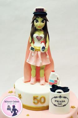 Supermama  -עוגה לסופר אמא