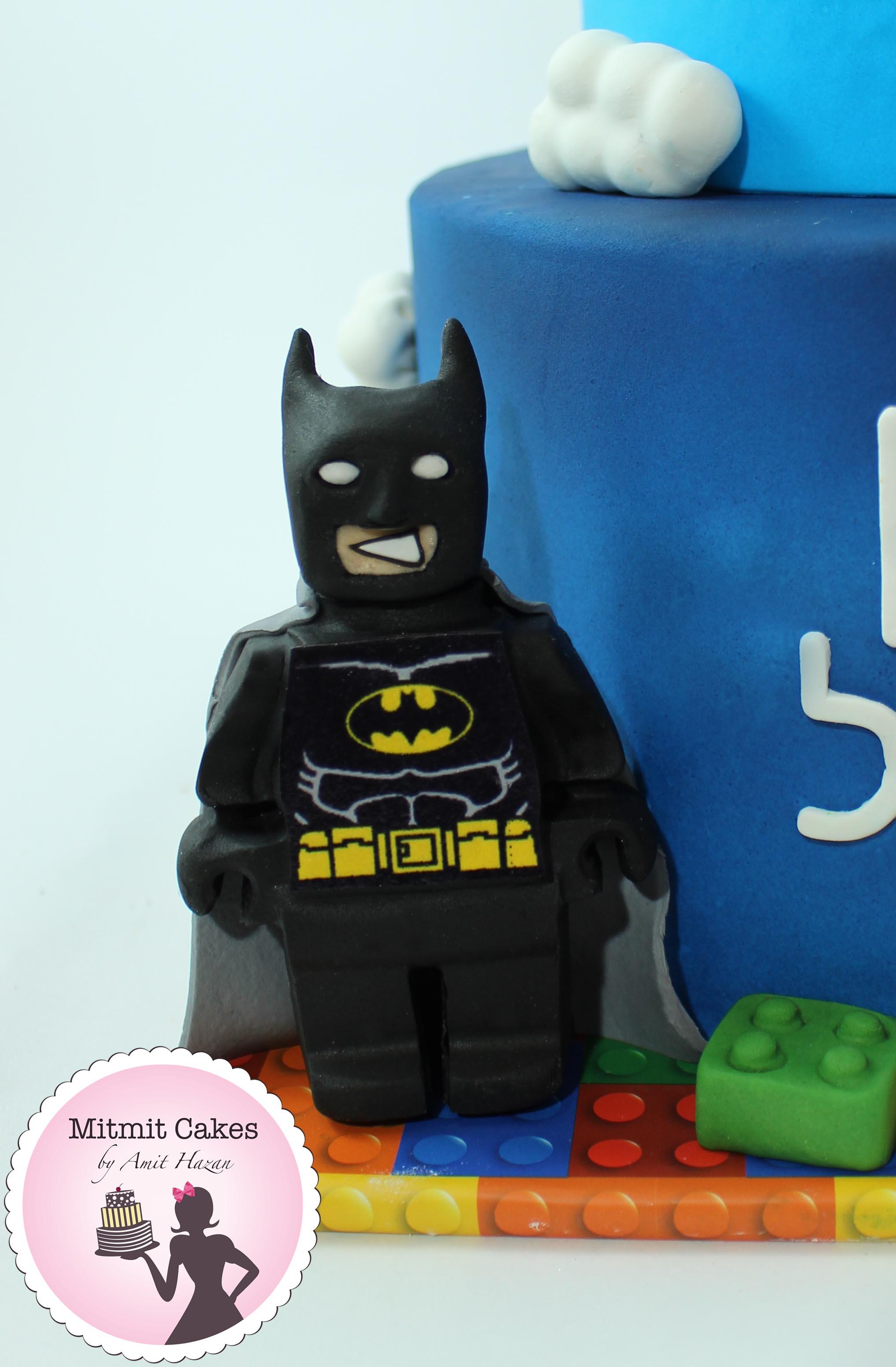 עוגה לגו באטמן