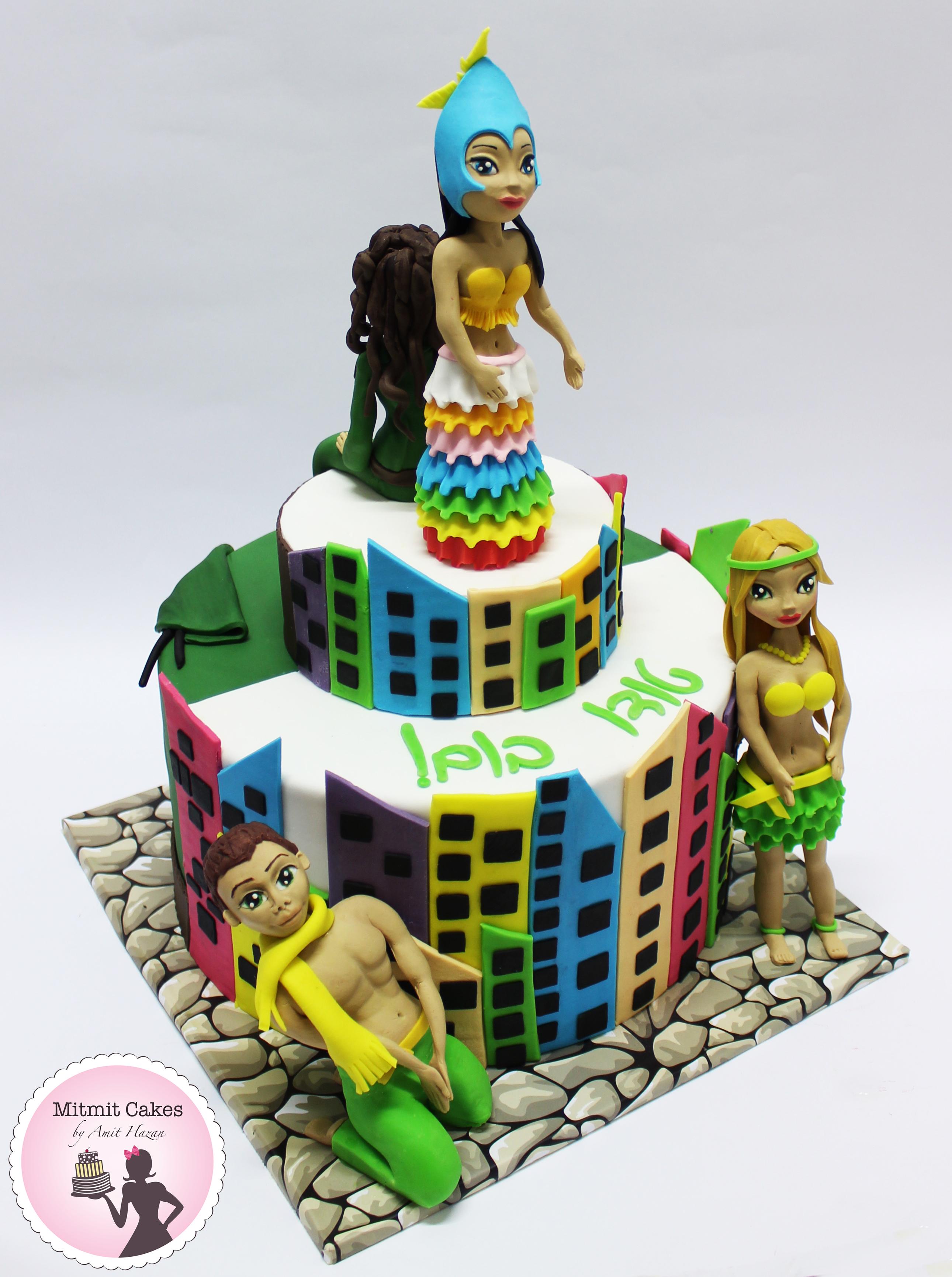 עוגת קרנבל ברזיל