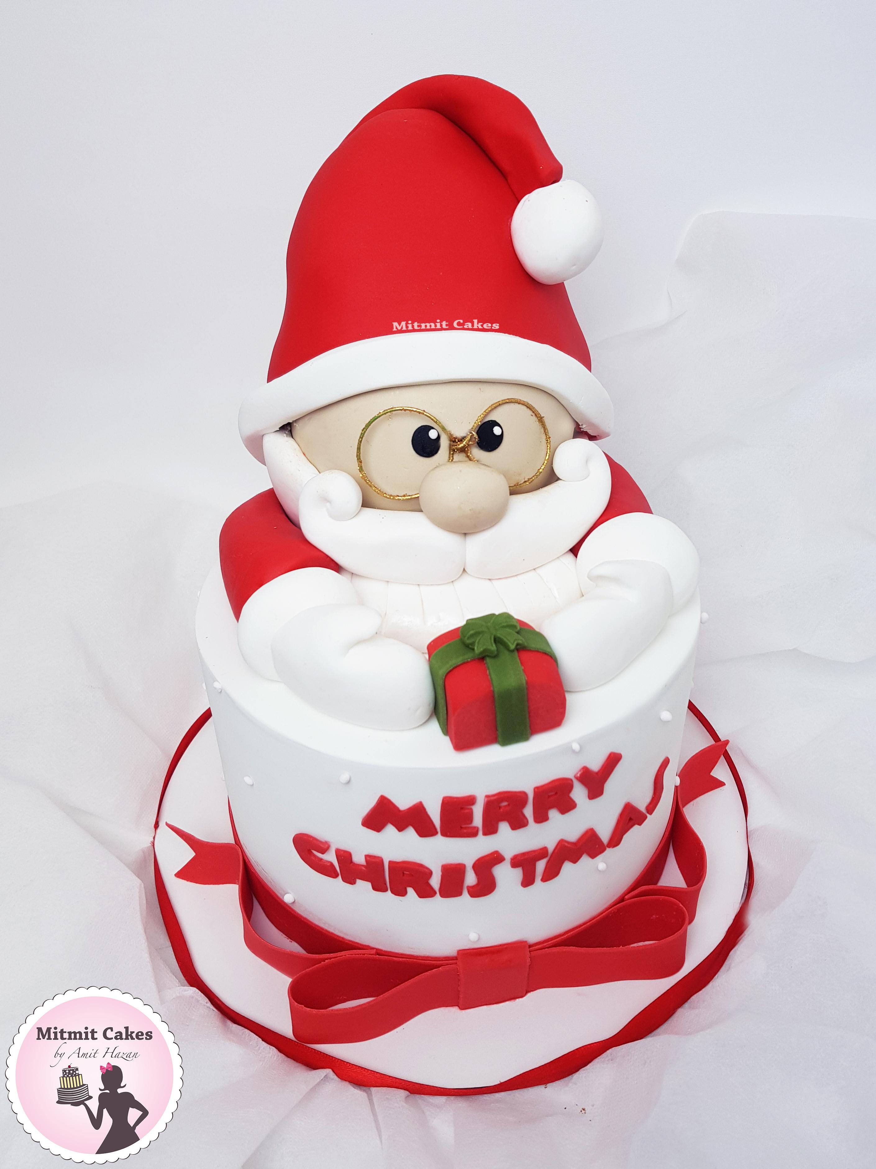 עוגה סנטה קלאוס