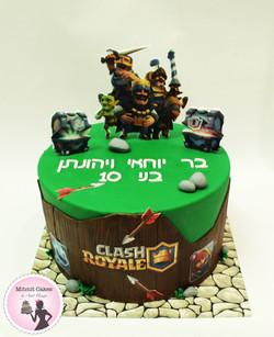 עוגת רויאל קלאש