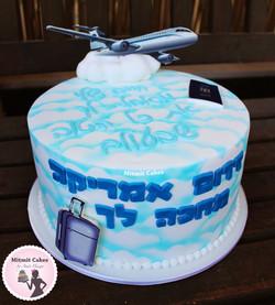 עוגה טיסה