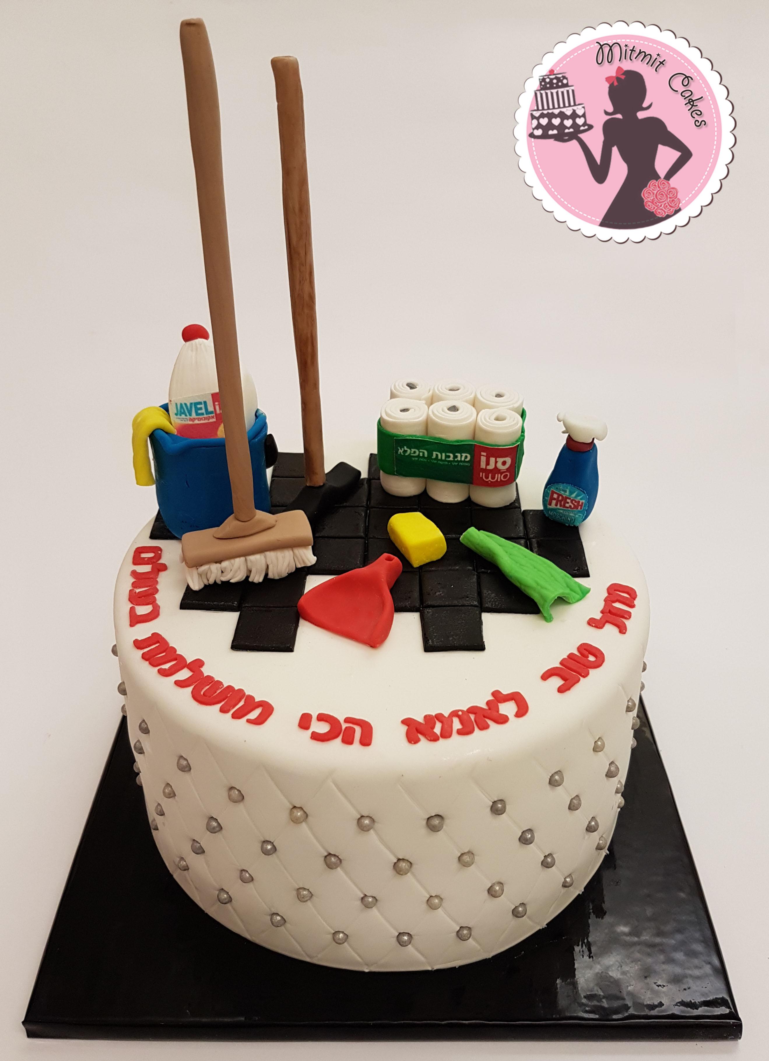 עוגת חומרי ניקיון