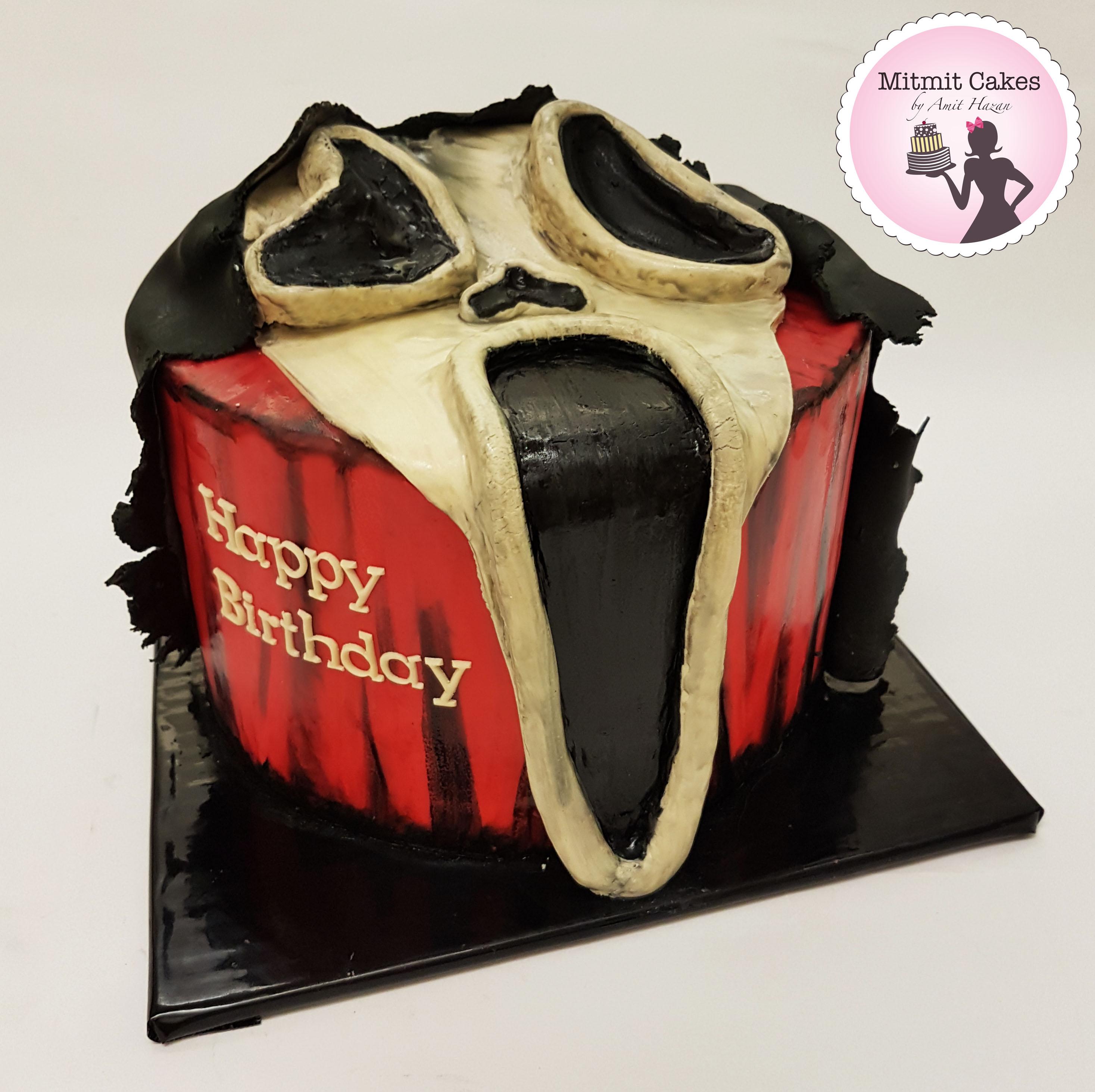 עוגה הצעקה- למסיבת יומולדת אימה