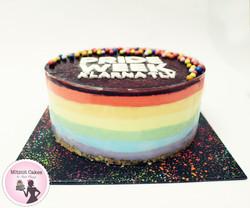 עוגה לשבוע הגאווה
