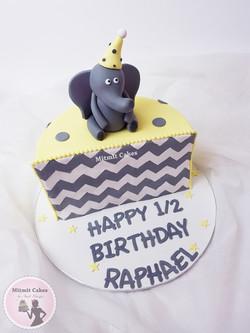 עוגה חצי יום הולדת