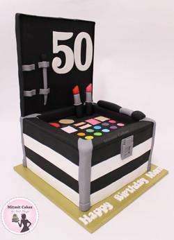 עוגה איפור