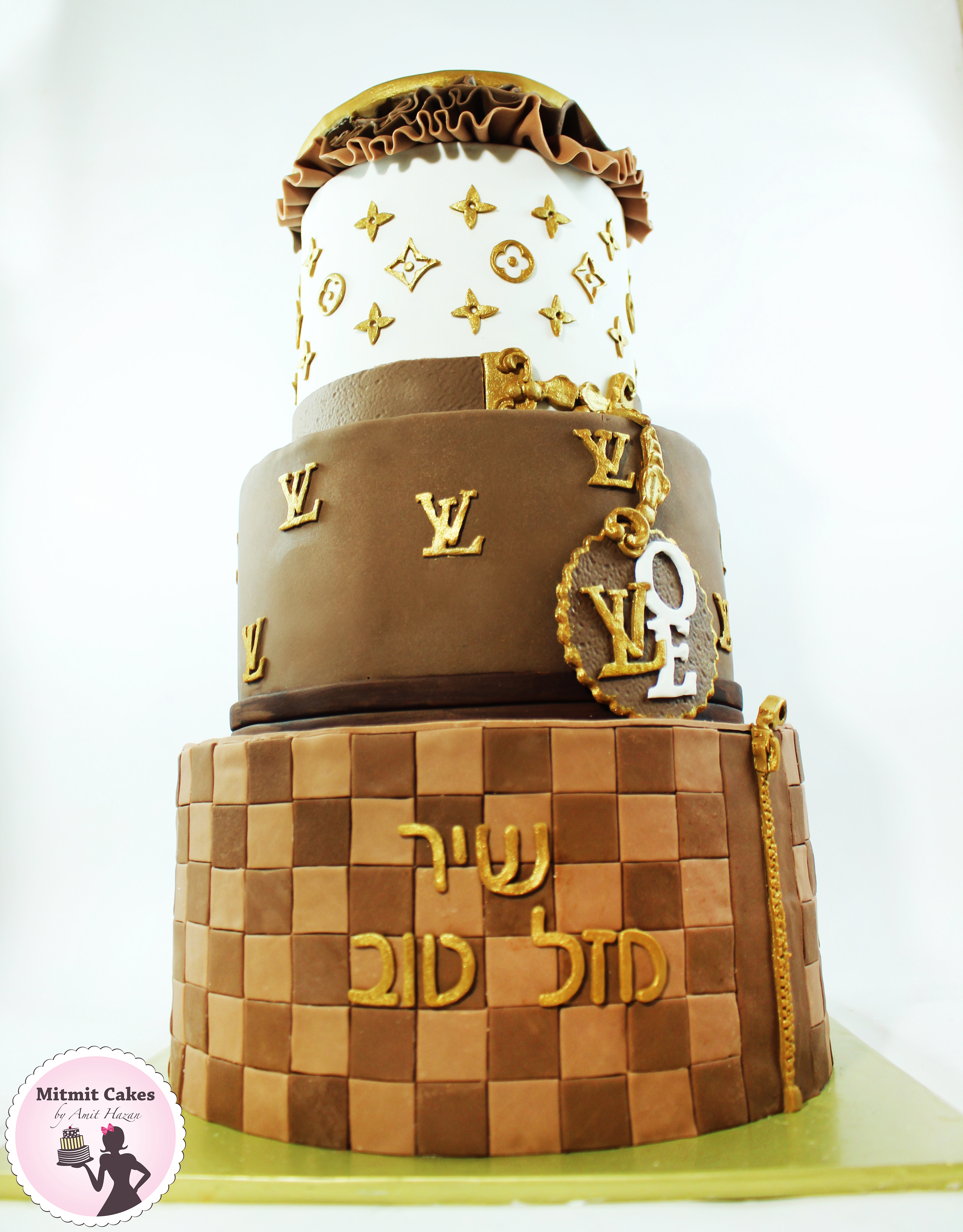 LOUIS VUITTON עוגה