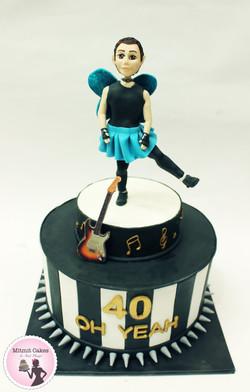 עוגה גיטרה