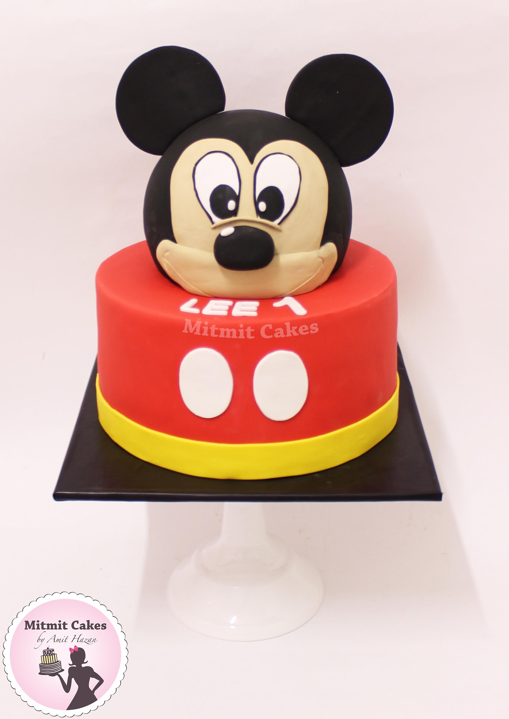 עוגה מיקי מאוס