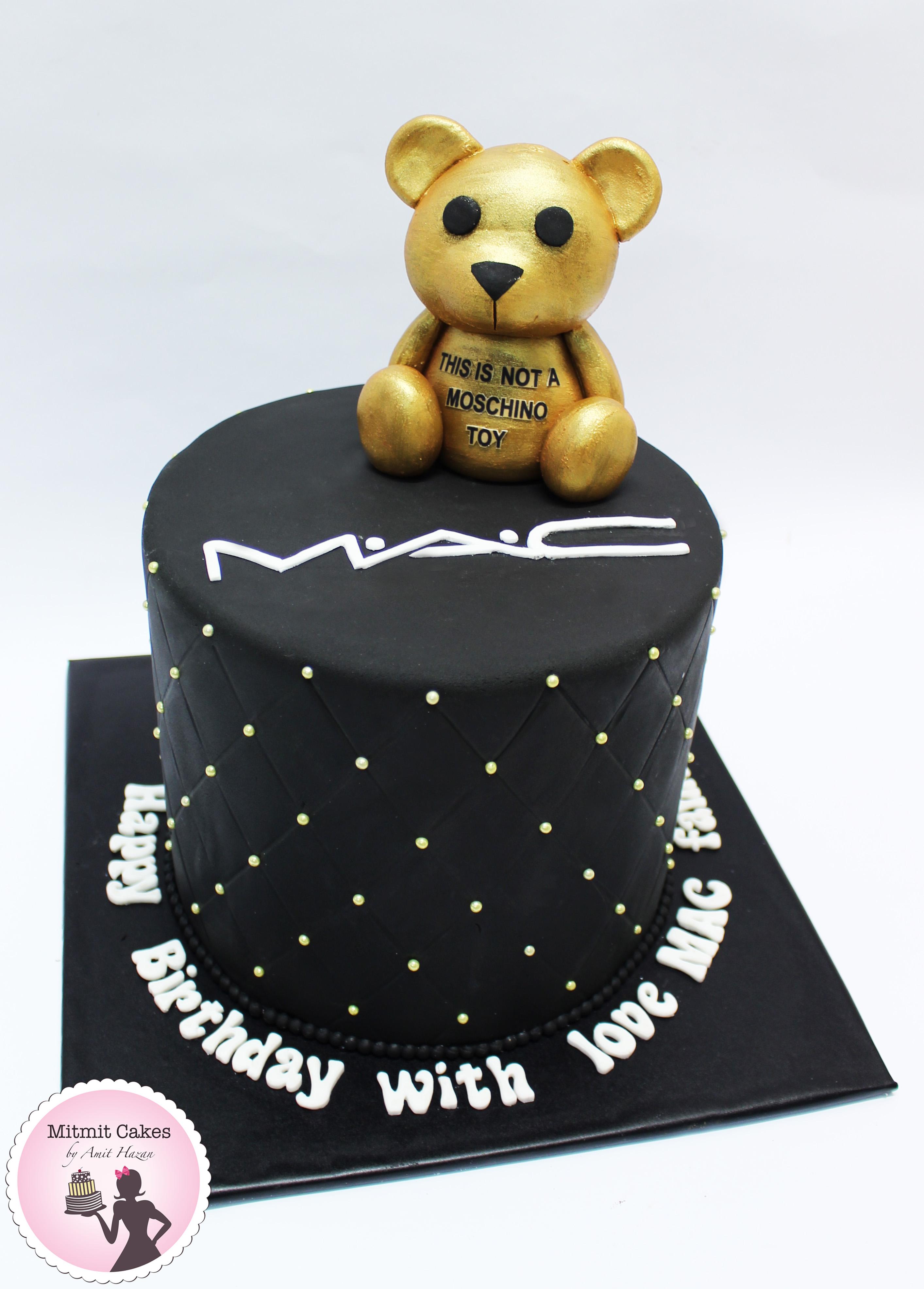 עוגה MAC MOSCHINO