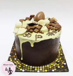 עוגת שוקולד מושחטטת