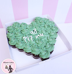 עוגת שחרור מיני קאפקייקס